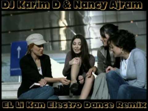 "Nancy Arjam & DJ Karim D ""Elli Kan Electro Dance Remix 2010"""