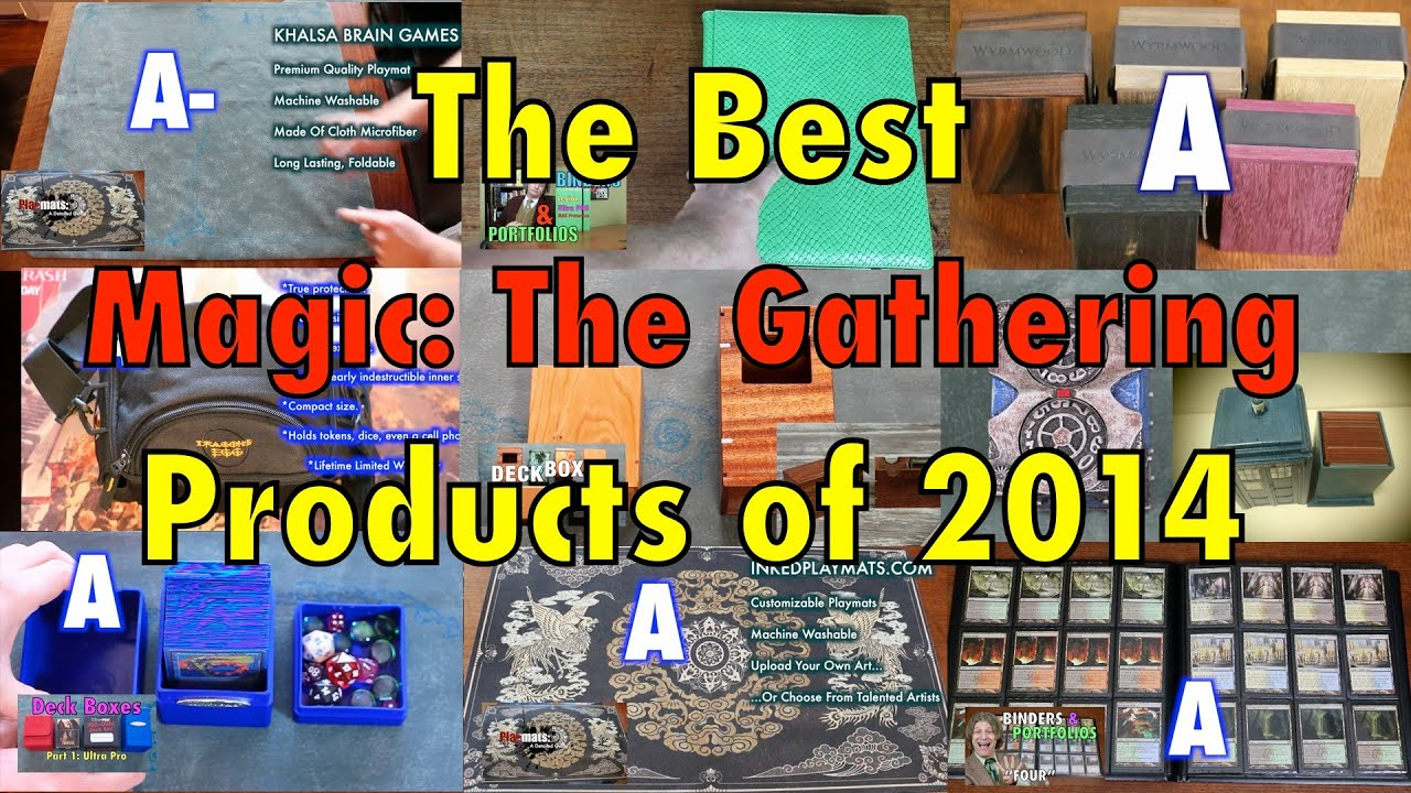 The best magic the gathering products of 2014 deck boxes the best magic the gathering products of 2014 deck boxes sleeves playmats for mtg pokemon cards youtube ccuart Gallery