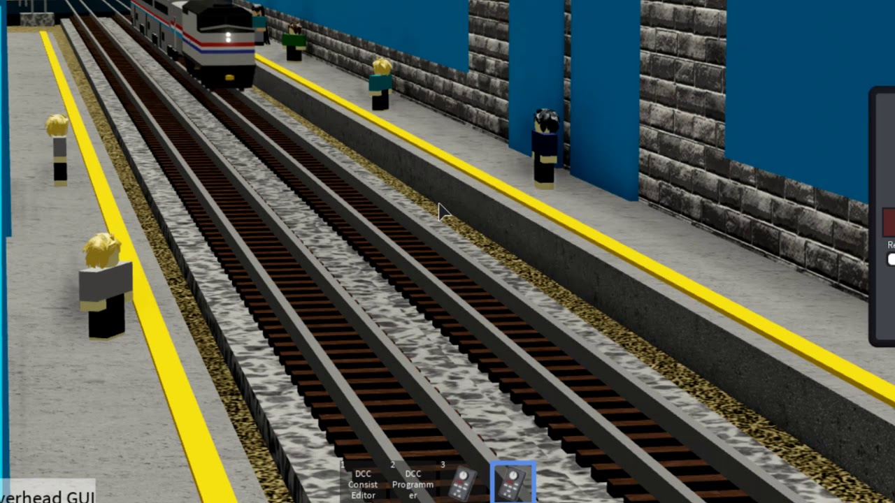 Dcc Roblox Ro Scale Goes Through Tiny Rail Road Crossing First Person Pov By Zixorhd Playz