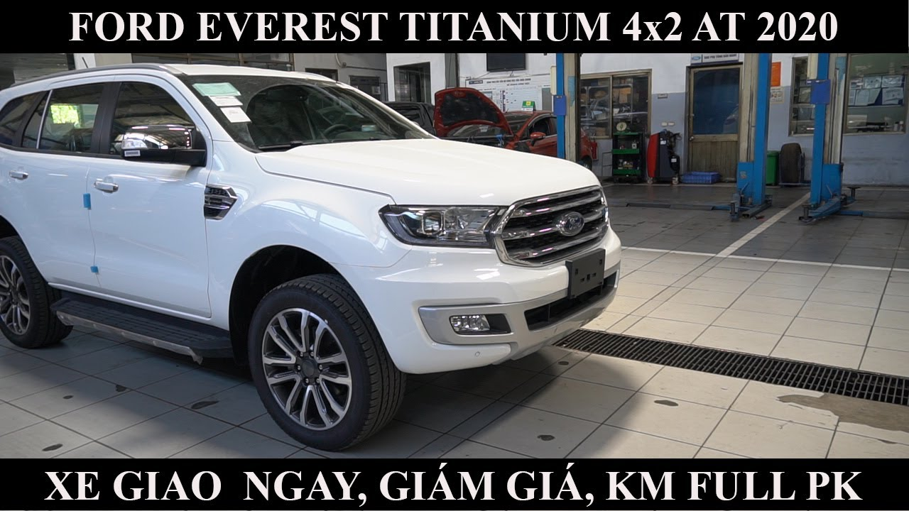 Giá lăn bánh xe Ford Everest Titanium 4x2 AT 2020 I Giảm giá 70 (Tr.đ)
