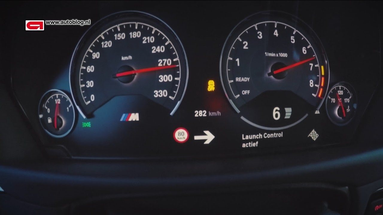 Speed 0 To 280 Km H In The Bmw M3 Competition Package F80 Youtube
