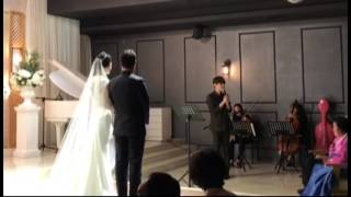 [정구영] 사랑의 시작은 고백에서부터 - 김범수 (4/15 결혼식 축가)
