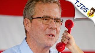Jeb Bush Has Emotional Break Down On Answering Machine.