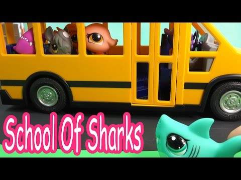 LPS - Bus Seat - School Of Sharks Series Video Movie Littlest Pet Shop Part 7 Cookieswirlc