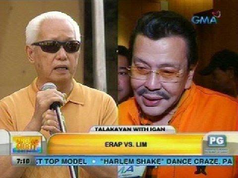 Talakayan with Igan: Erap vs. Lim