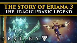 Destiny 2 Shadowkeep Lore - The Story of Eriana-3! Her Tragic Vengeance & Lost Lover.