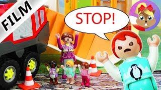 Playmobil Film polski  PRZEDSZKOLE SŁONECZKO ZBURZONE! Emma nigdy więcej nie pójdzie do przedszkola?