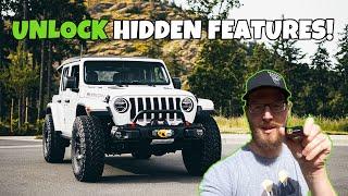 Jeep Wrangler JL Hidden Features Unlocked - Tazer JL Mini install on my Ecodiesel