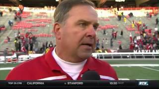 Indiana At Maryland - Football Highlights