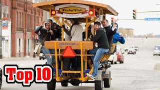 10 UNUSUAL Businesses on WHEELS!