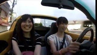 女史同士でレンタカーのロータス・エリーゼ フェイズ1 を借りてインプレドライブ thumbnail