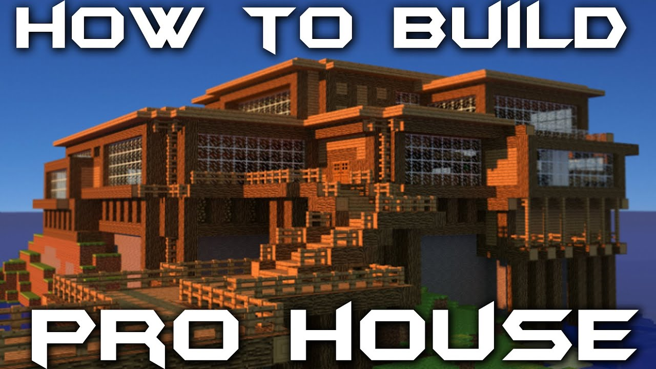 How to build your own pro house in minecraft youtube for Build your house