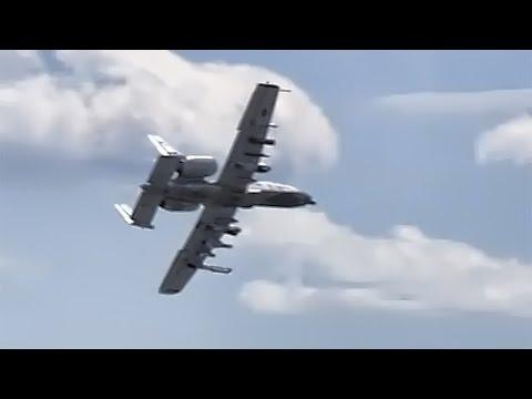 A-10 Warthog • Close Air Support Demonstration