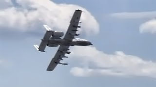 A-10 Warthog • Close Air Support Demonstration