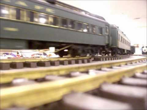 The Garden Railway society of Kansas City's Great Plain Train station visit.