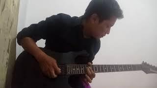 Cover instrumental gitar melodi Banyu Langit versi slow romantis - Didi Kempot , via vallen