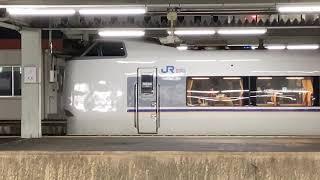 『元スノーラビット車,響くGTOVVVF』JR東海・西日本681系特急しらさぎ金沢行き,尾張一宮駅発車