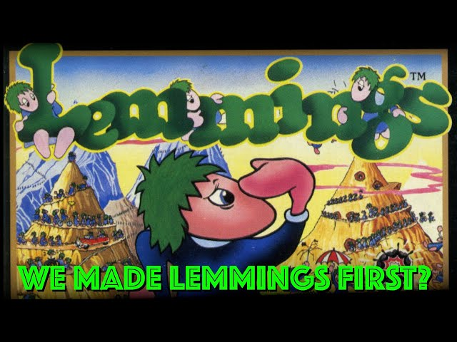 """We invented """"Lemmings"""" concept WAY EARLIER on 8-bit"""