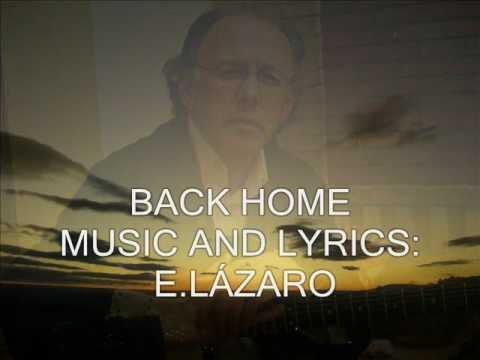 BACK HOME. A HEAVEN'S KISS BAND.ENRIQUE LAZARO