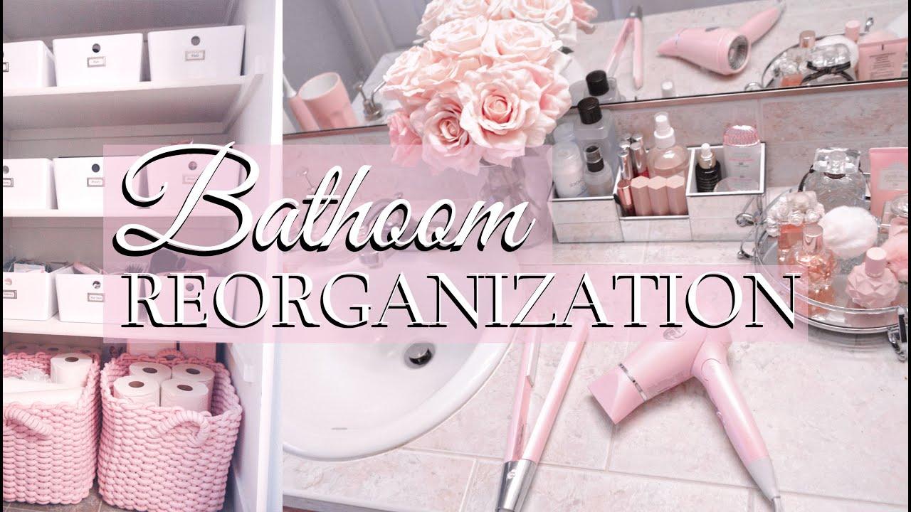 GLAMIFYING MY BATHROOM // Princess Bathroom Re-Decorating
