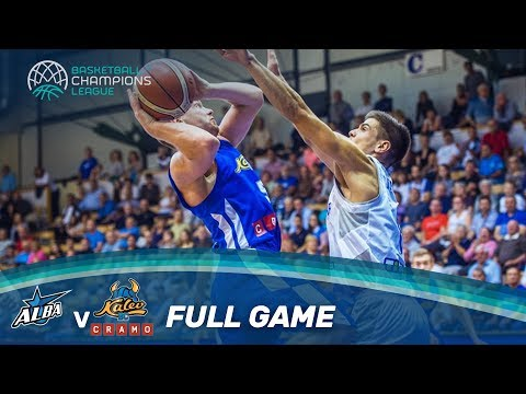 LIVE 🔴 - Alba Fehervar (HUN) v Kalev Cramo (EST) - Basketball Champions League 17-18