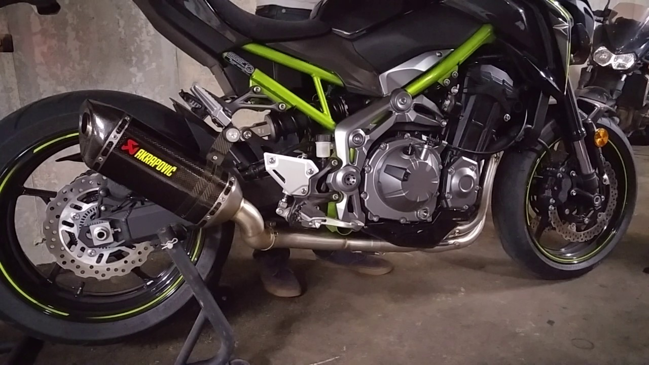 Kawa Z900 Full Akrapovic exhaust