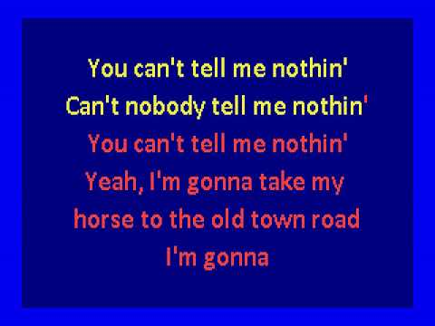 Lil Nas X ft. Billy Ray Cyrus - Old Town Road - remix- (karaoke)
