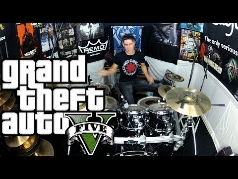 Sleepwalking - The Chain Gang of 1974 - Drum Cover - GTAV Soundtrack/Trailer - Grand Theft Auto 5