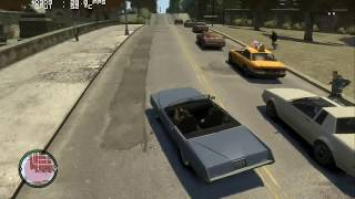 (18) PC Sapphire 7850 2Gb - GTA 4 Gameplay - V-Sync Very High 1080p HD