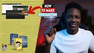How to make a MODERN REGGAETON in FL Studio 20