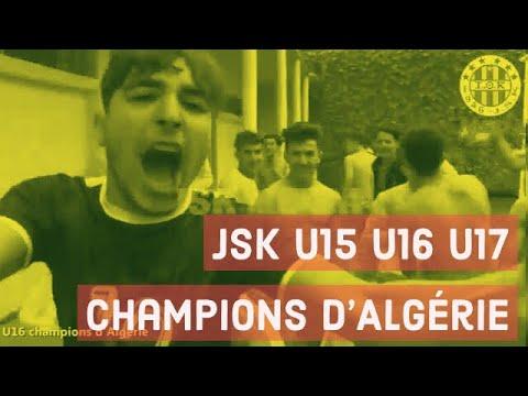 JSK  / Joie et réactions de nos jeunes champions .