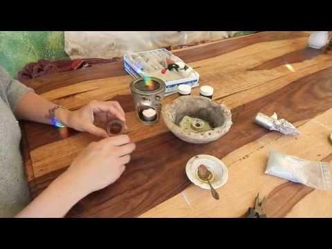klebrige Harze Räuchern: Galbanum, Labdanum, Perubalsam