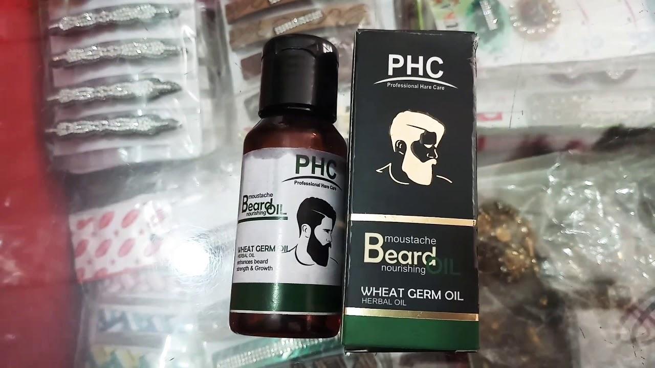 Download PHC BEARD OIL