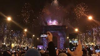 2017 Nouvel An / New Year - Arc de Triomphe Paris - GoPro Hero 5