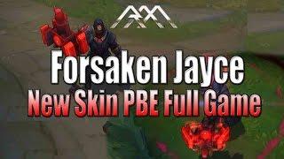 Forsaken Jayce - New Skin - PBE Full Game - League of Legends