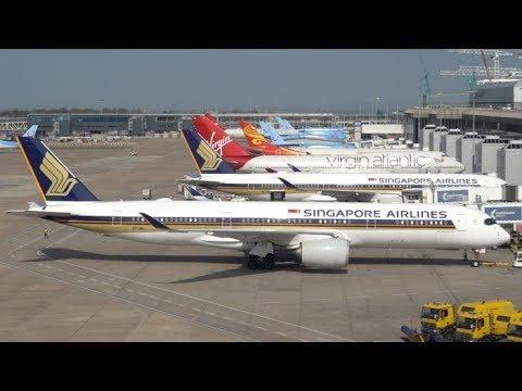 Close Up Ground Operations at Manchester Airport - Terminal 1+2 - Terminal  Development