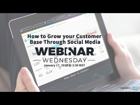 How to Grow your Customer Base Through Social Media