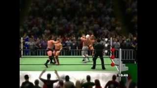 【WWE'13】グラジ&タイトン vs ディアマンテ&Bダニエルソン【Xbox360】