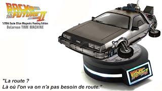 DeLorean Volante Magnétique Retour Vers Le Futur 2