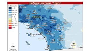 Colder Weather, Locally Windy and Scattered Precipitation - NWS San Diego