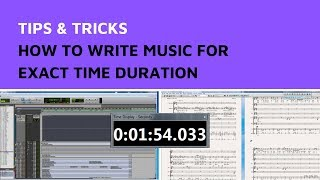 Composing Secrets 🎵 How to Write Music for Exact Time Duration