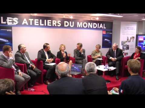 Les Ateliers du Mondial 2014 : Les métiers du futur de l'automobile (complet)