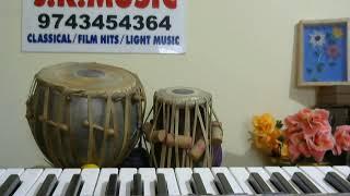 "Neeralli Sanna Aleyondu kannada""Simple KARAOKE""for Music begginers bu VISWANATH LS"