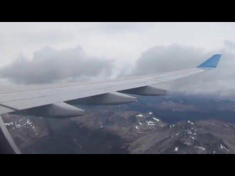 Buenos Aires - Ushuaia Airbus A330 Aerolineas Argentinas