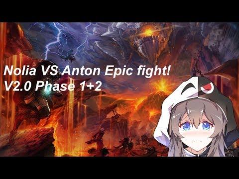 [DFOG] [Battlemage] Nolia VS Anton 2.0! Phase 1&2 solo Epic fight!