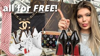 how I get aĮl of my designer items for FREE | the real real influencer program
