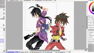 Bakugan speedpaint Dan and Shun