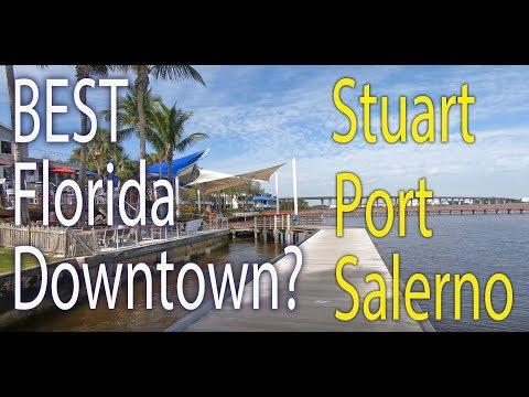 Stuart And Port Salerno. Florida. A Driving Tour