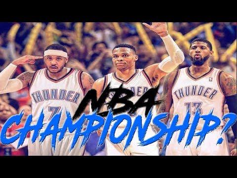 CAN CARMELO ANTHONY AND THE OKLAHOMA CITY THUNDER WIN A CHAMPIONSHIP? | NBA 2K18