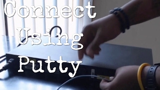 How to Connect to a Cisco Switch Using Putty